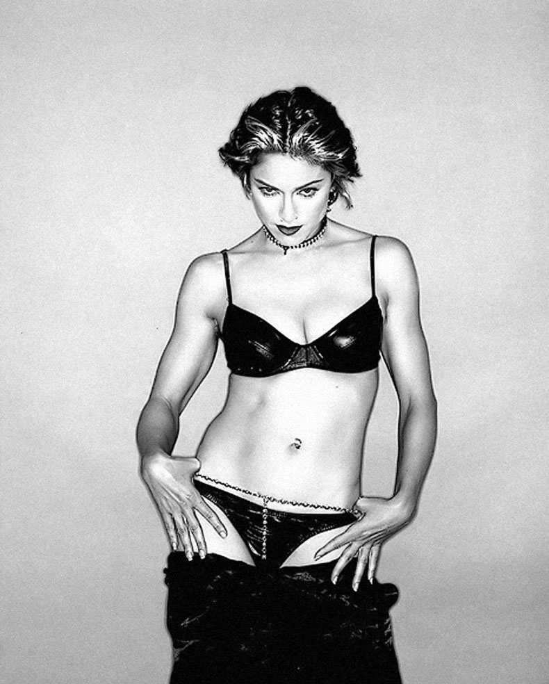 Madonna bares it all in a see