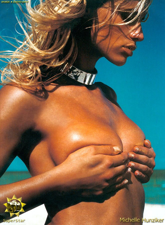 Michelle Hunziker Nude Gallery Photos Leaked New