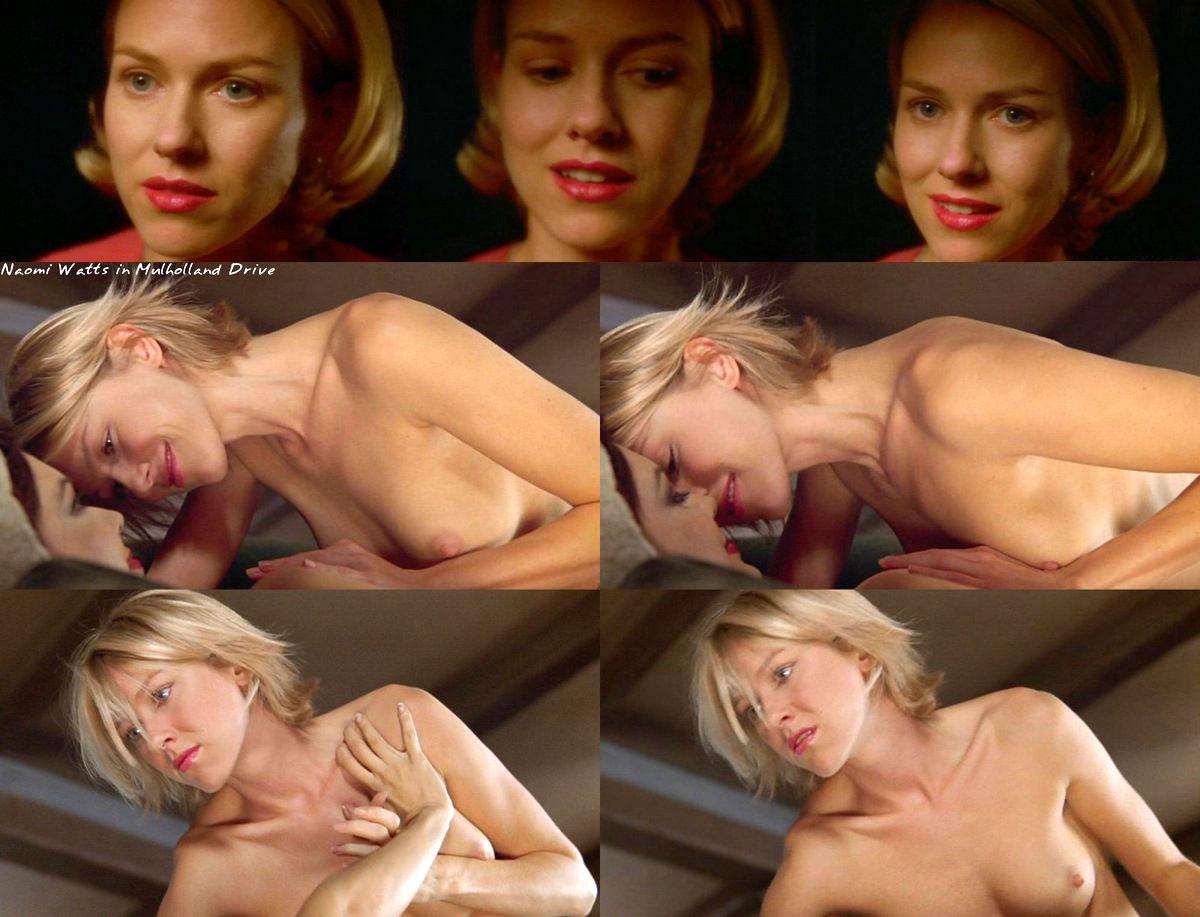 Naomi watts nude scene compilation and sex tape pics