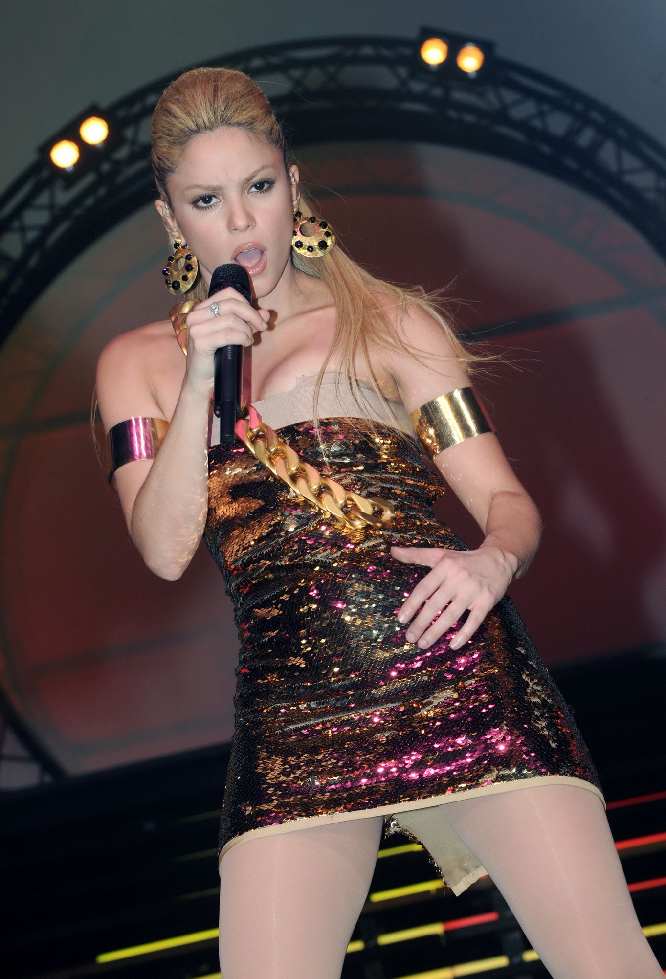 Шакира без трусиков 5 фотография