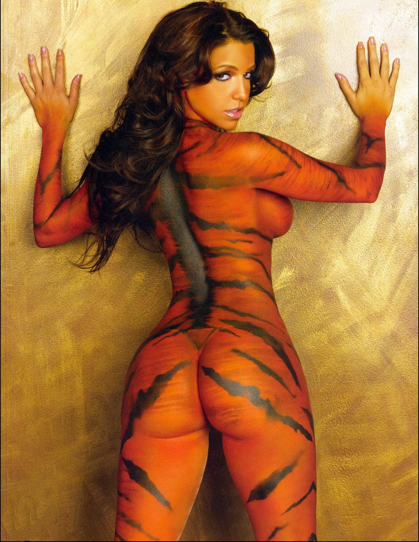 Тигр на попе порно 10 фотография